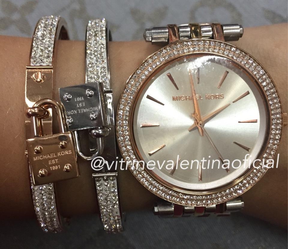 Relógio Michael Kors MK3203 Feminino Original - Vitrine Valentina 85ca237684