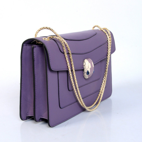 47909759daed0 Bolsa Bvlgari Serpenti Purple Bolsa Bvlgari Serpenti Purple ...