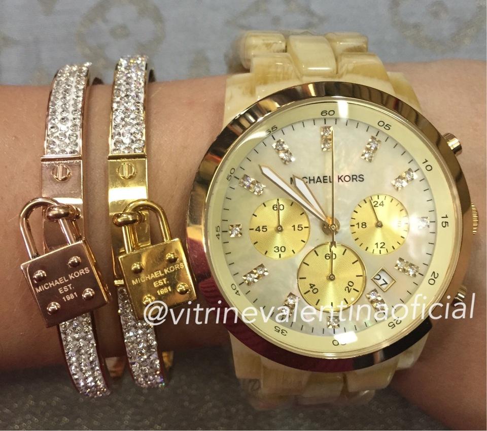 815542241854e Relógio Michael Kors MK5217 Feminino Original - Vitrine Valentina