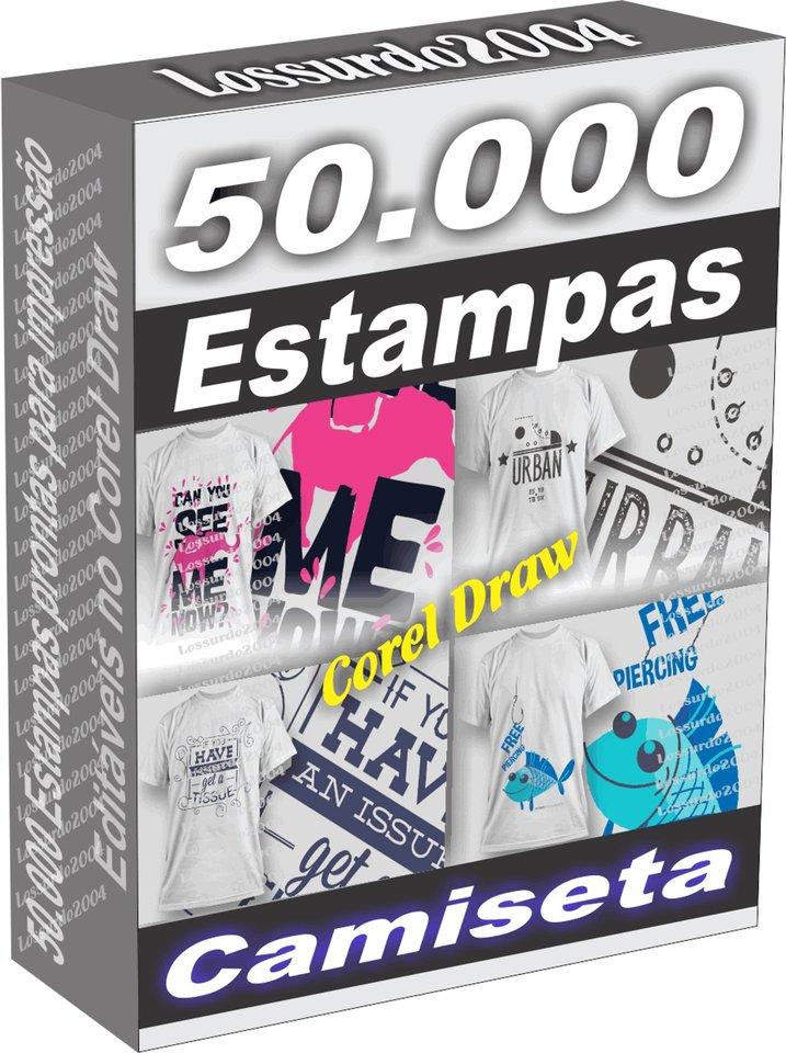 192424613b 50.000 Estampas Camisetas Regatas em Vetor Corel Draw envio Grátis via  DOWNLOAD