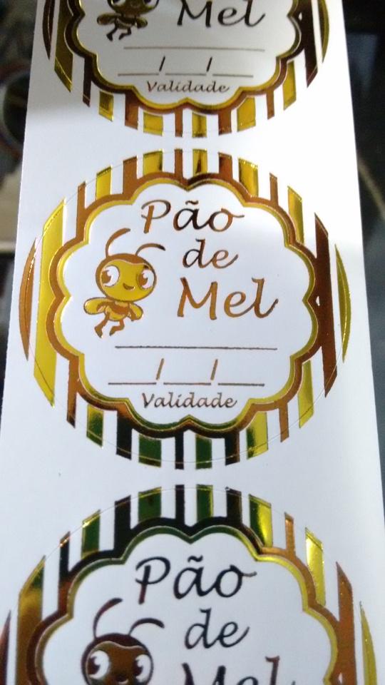 Pao De Mel Etiquetas Decorativas