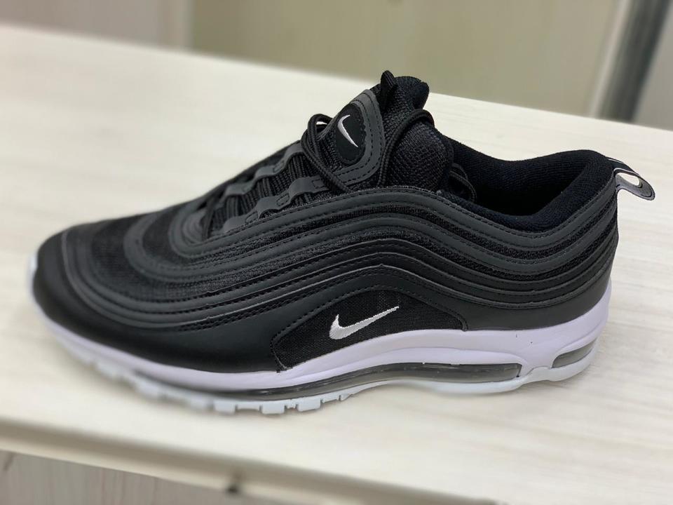8cb9413de8 Nike Air Max 97 Preto e Branco - Mozarts Fitch Outlet