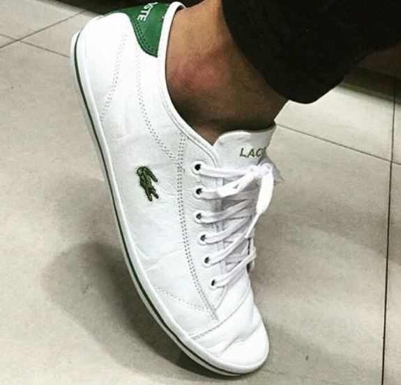 361ae1d9c4eaa Sapatenis Lacoste Couro Original Frete Grátis - Mozarts Fitch Outlet