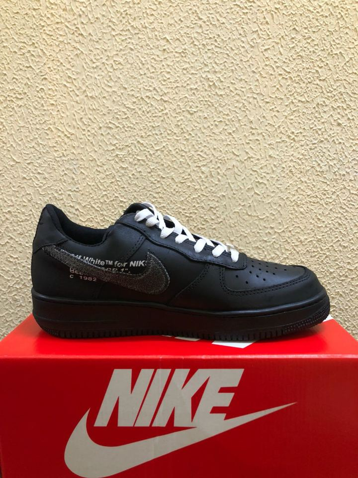 293afdff21 Nike Air Force Off White PRETO - Importado Pronta Entrega - Mozarts ...