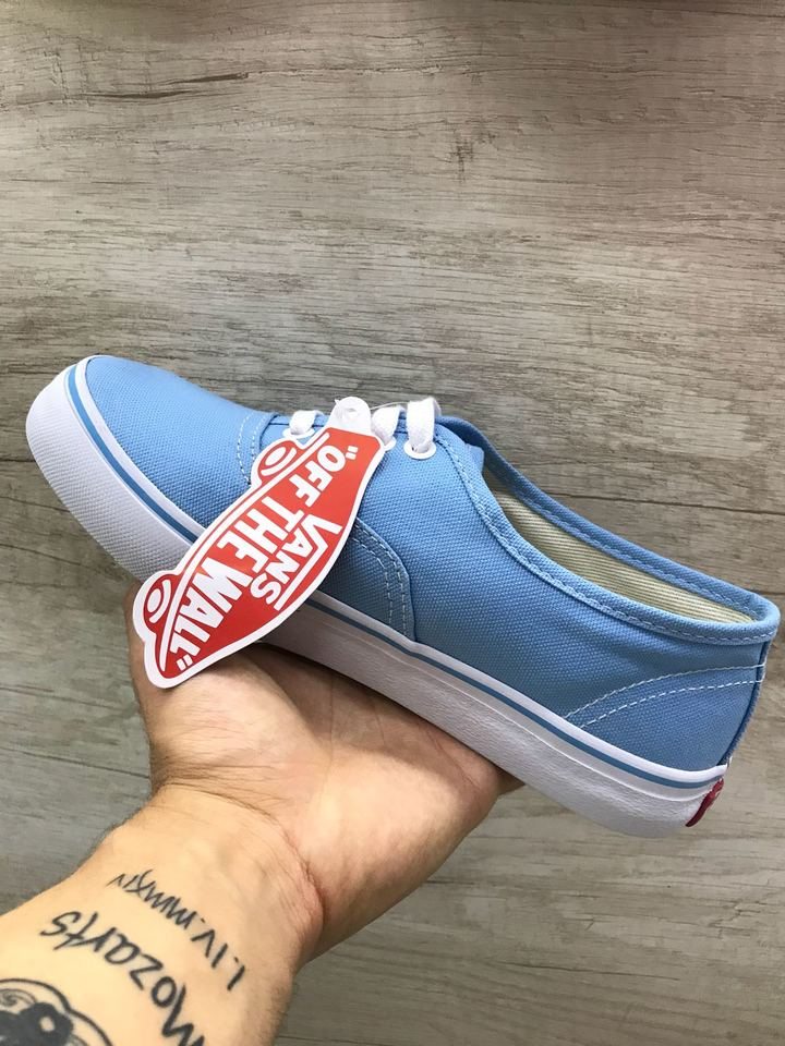 9dec9f77654 Vans authentic azul claro feminino - Mozarts Fitch Outlet
