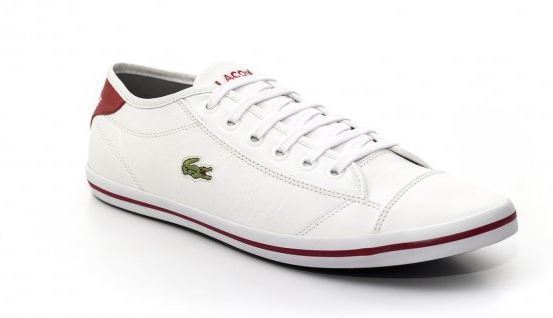 68d7935070e Sapatenis Lacoste Couro Masculino - Mozarts Fitch Outlet