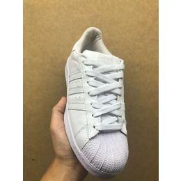 fc2d301d2 Tenis Adidas Superstar Todo Branco