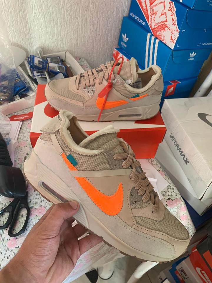 Nike Air Max 90 Off White Bege Claro