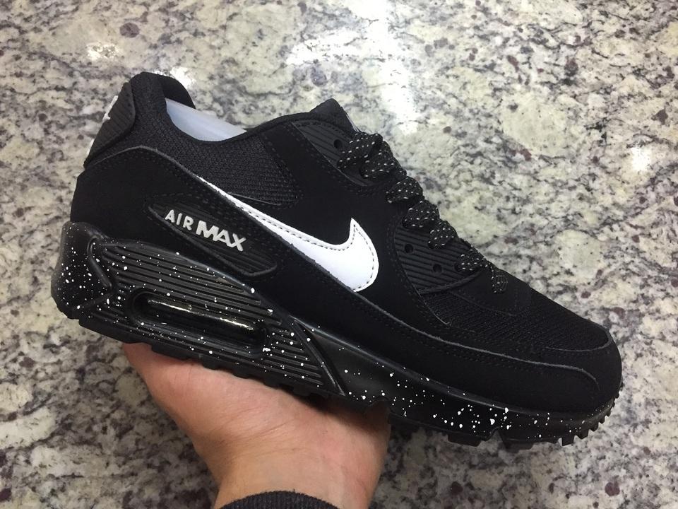 a54e755a041 Tenis Nike Air Max 90 Preto Lunar - Mozarts Fitch Outlet