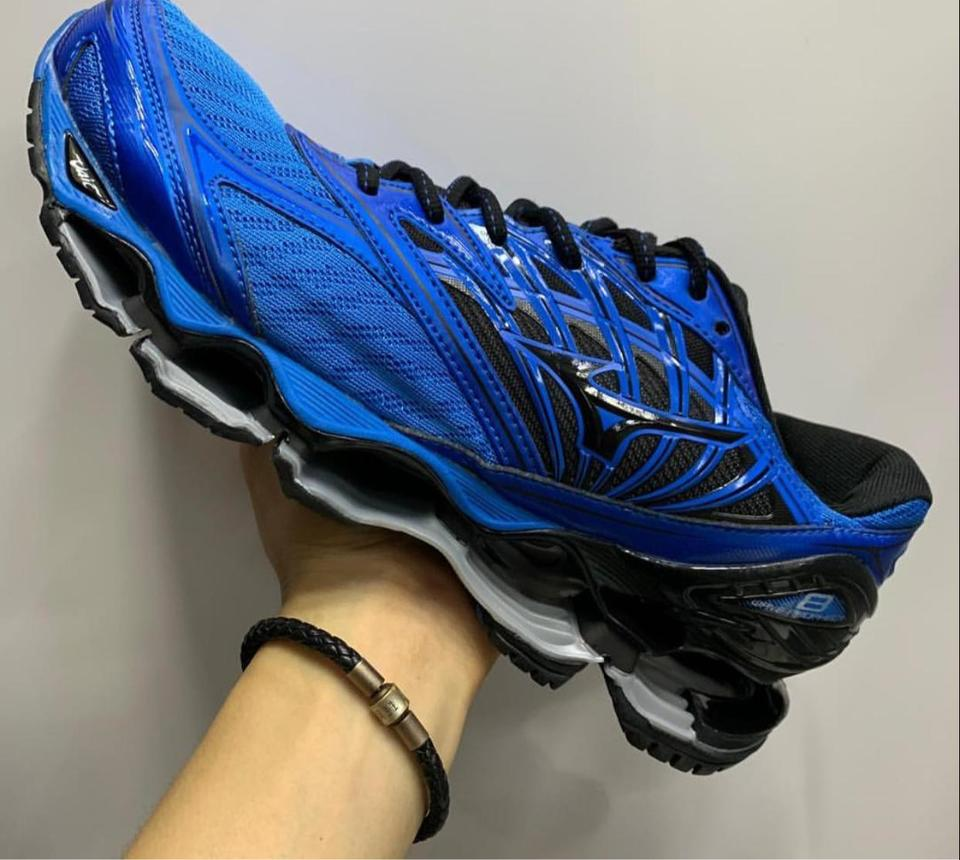 62bbfa171251a Tenis Mizuno Wave Prophecy 8 Masculino - Mozarts Fitch Outlet