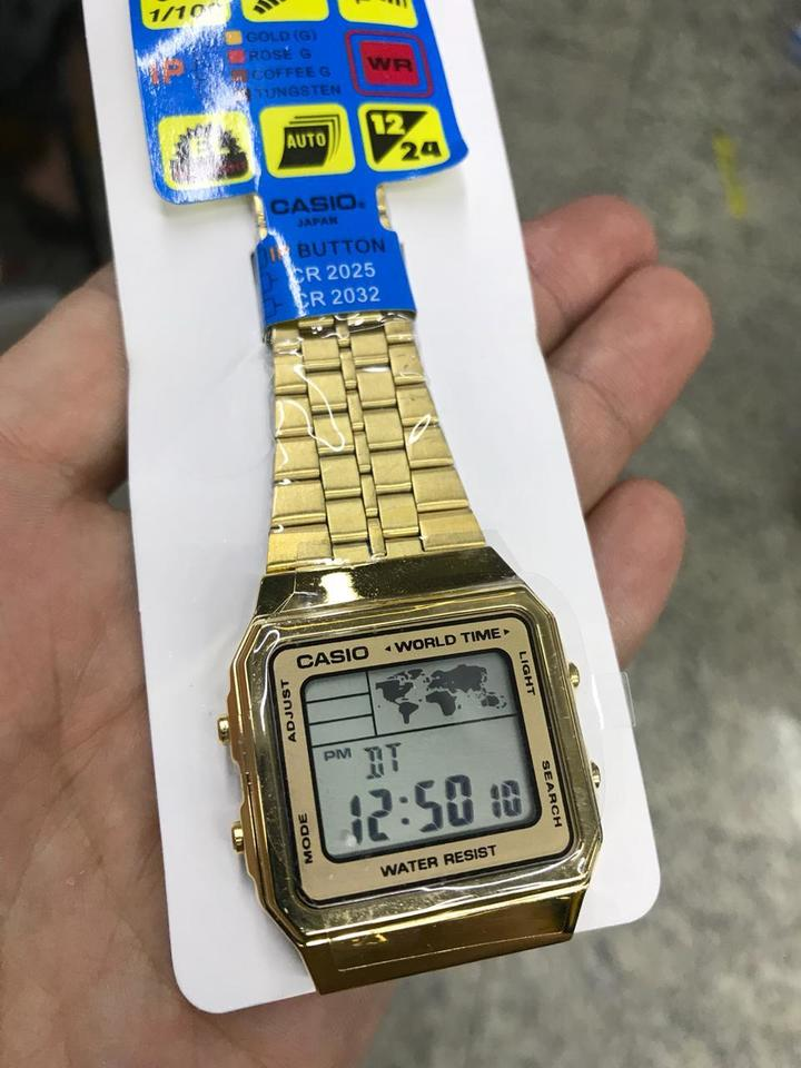 3173688cde3 Relógio Casio World Time - Unnisex - Mozarts Fitch Outlet