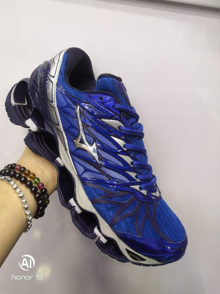 be5b199ae26 Mizuno Wave Prophecy 7 Masculino Azul - Mozarts Fitch Outlet