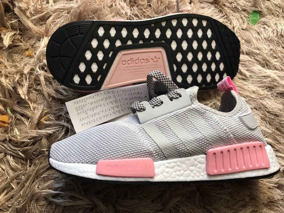 2bbb59225c Tenis Adidas NMD Feminino Cinza com Rosa - Mozarts Fitch Outlet