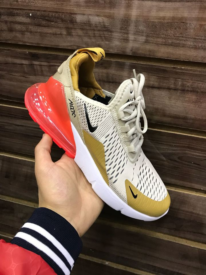 845903a3bc7 Nike air max 270 bege feminino - Mozarts Fitch Outlet