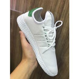 0ebf3c770e Tenis Adidas Pharrel Williams Branco com Verde - Unnisex