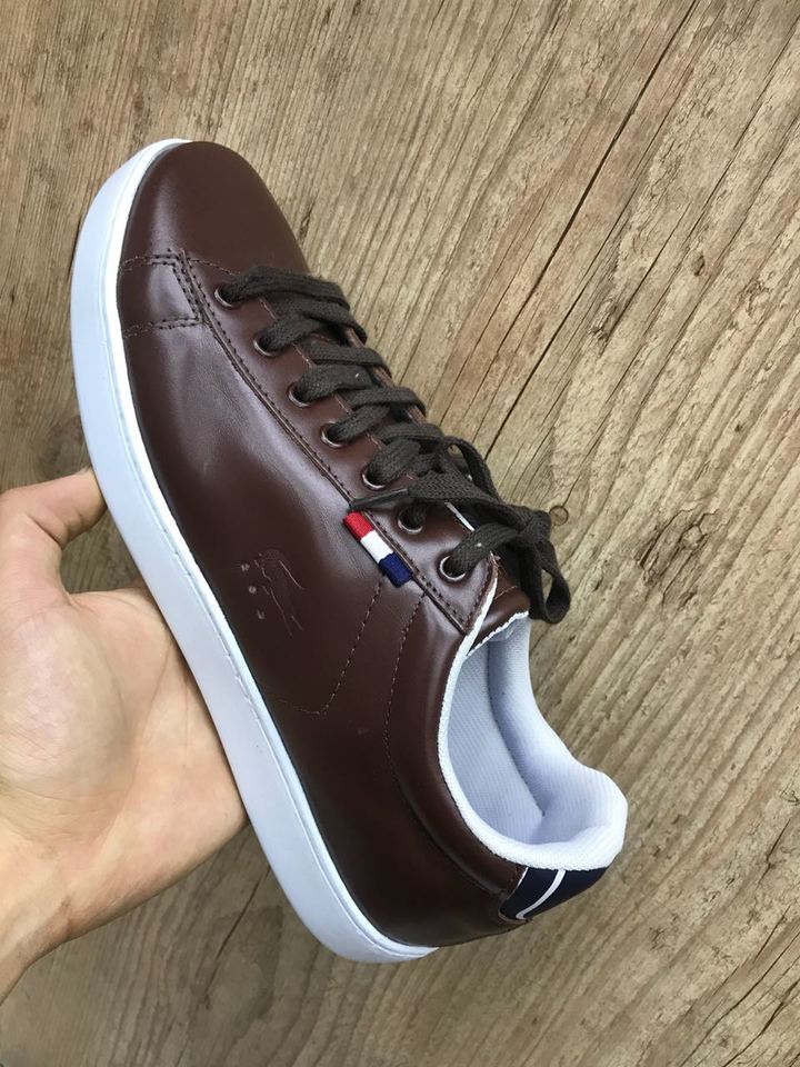 280829969 Sapatenis Lacoste França Couro Masculino - Mozarts Fitch Outlet