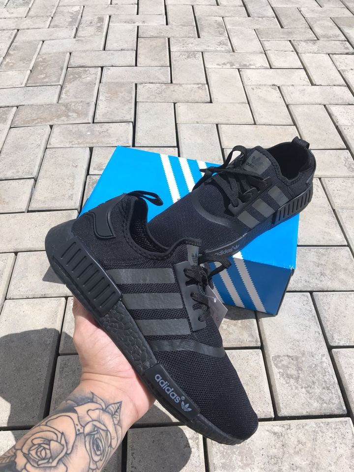03bb0d3780 Tenis Adidas NMD Todo Preto Masculino - Mozarts Fitch Outlet