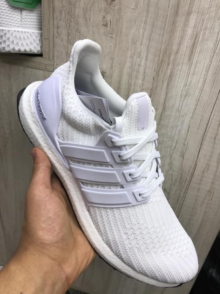 79477eb26 Tenis Adidas Ultraboost 4.0 Masculino Branco - Mozarts Fitch Outlet