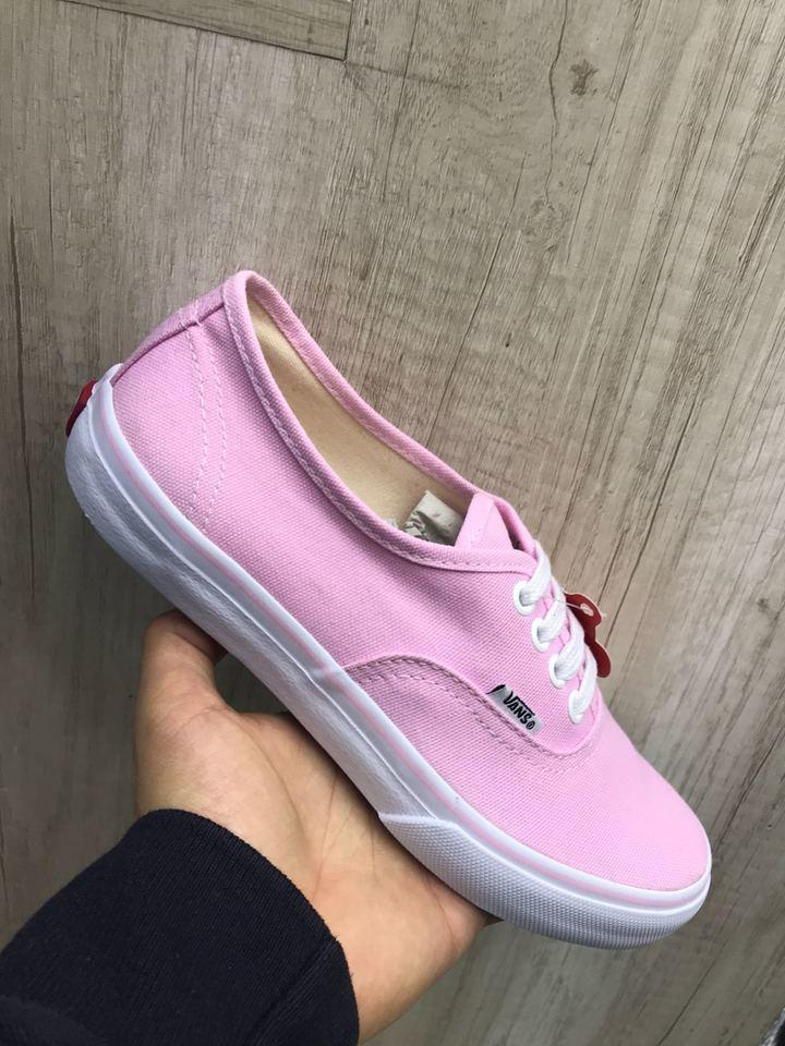 vans rosa bebe