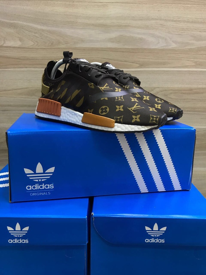 7586fd10a6 TENIS ADIDAS NMD LOUIS VUITTON - PRONTA ENTREGA - Mozarts Fitch Outlet