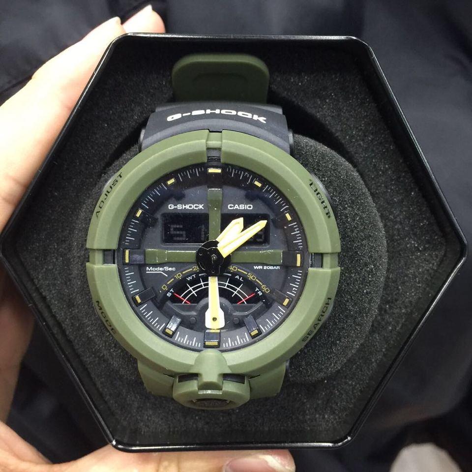 151800e9ead Relógio G Shock Verde - Importado - GA 500 - Mozarts Fitch Outlet