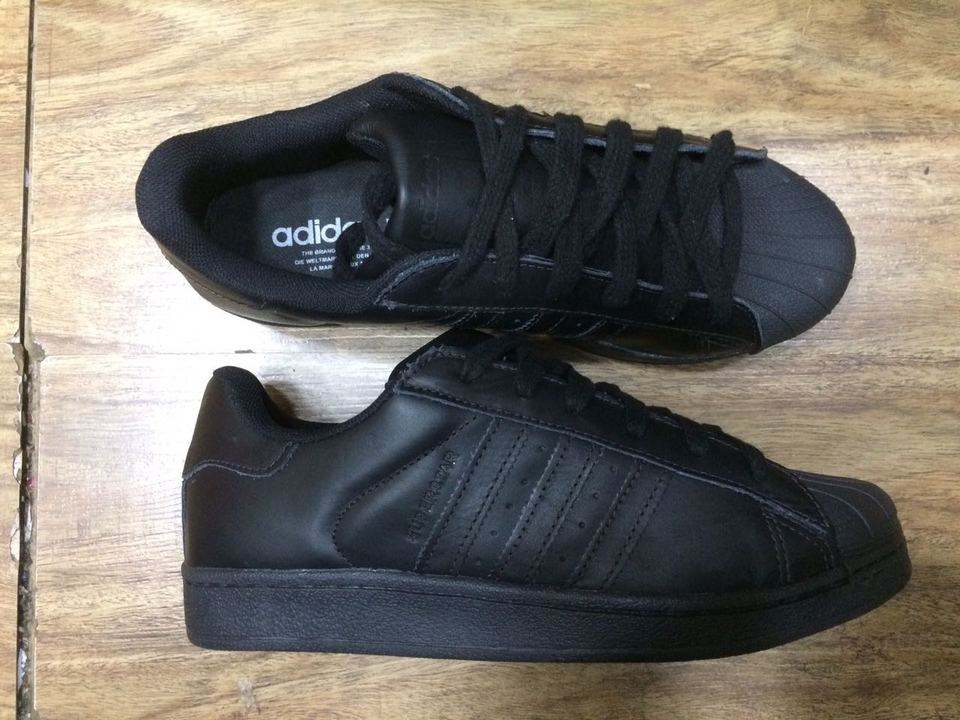 Superstar Tennis Adidas All Preto Blacktodo wOkiTPZXu