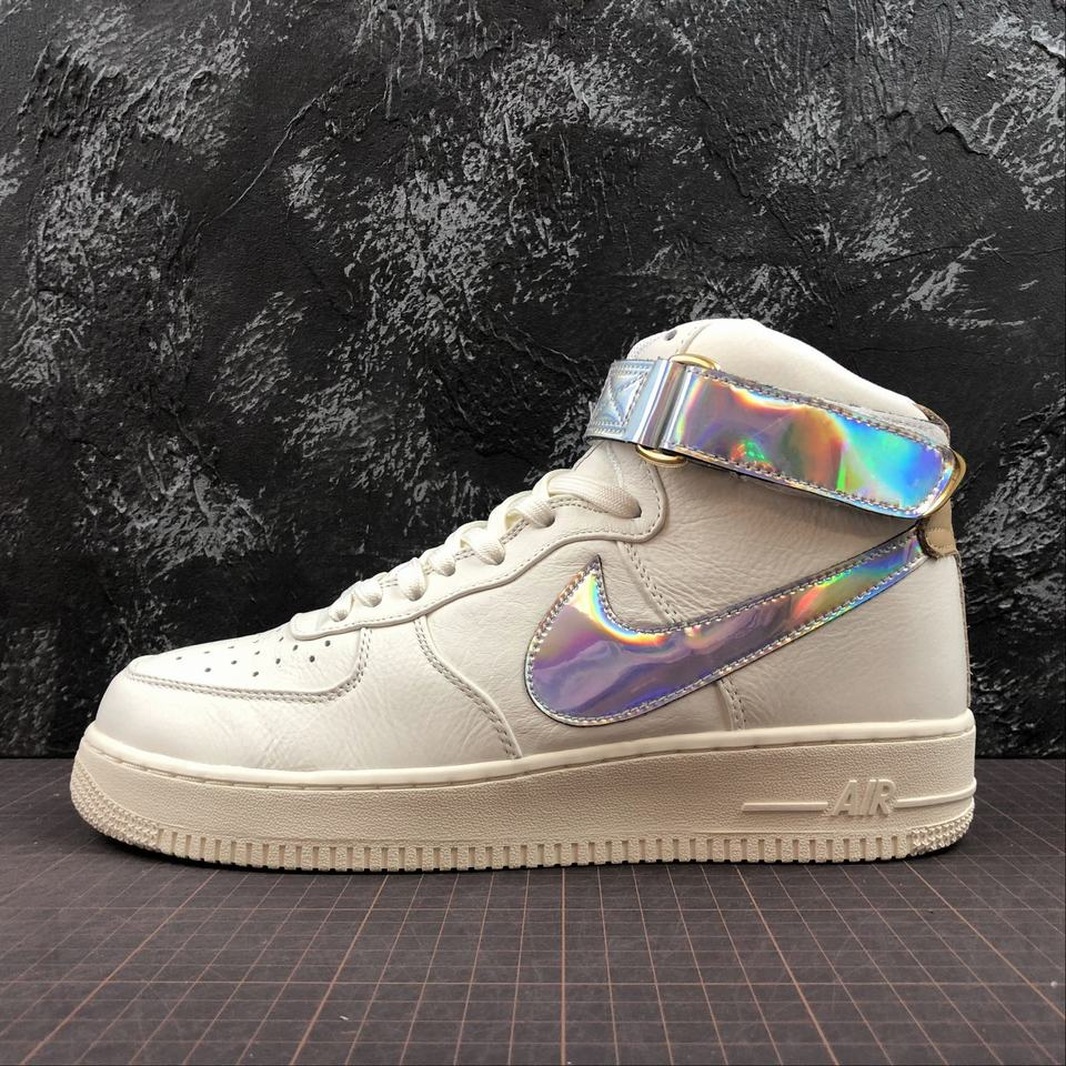 Nike Air Force 1 Sail Metallic Silver