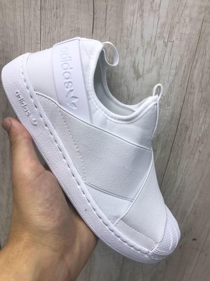 wholesale dealer 2de3f d5b52 Adidas Superstar Slip On Pronta Entrega Lançamento