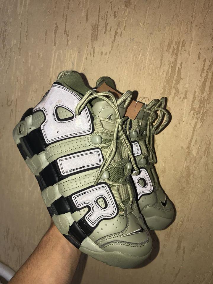 sports shoes 56885 8ac11 ... Nike Air More UpTempo Verde Musgo