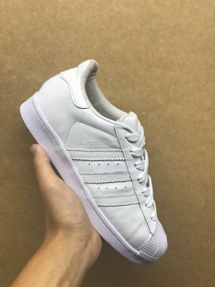 784d52d3284 Tenis Adidas Superstar Todo Branco Tenis Adidas Superstar Todo Branco