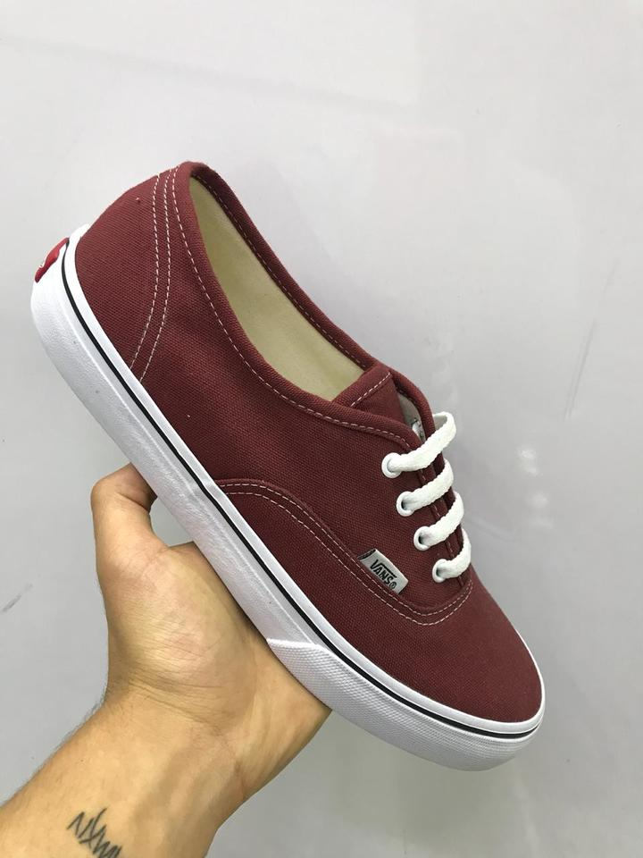 6815260bf3c Vans Authentic Vinho Masculino - Mozarts Fitch Outlet