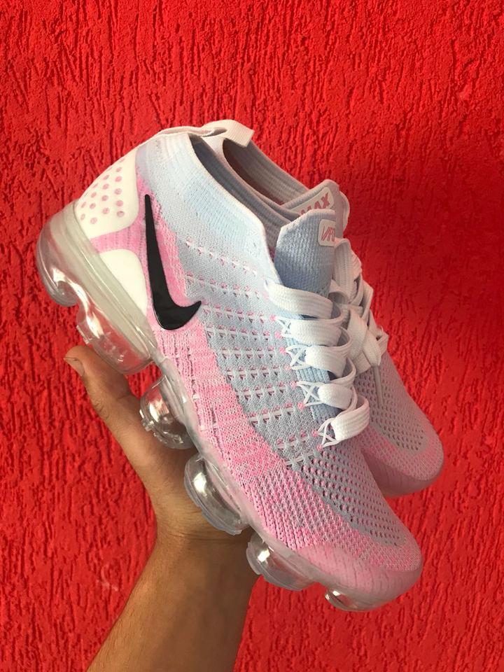 57e2e267742 Nike vapormax 2.0 Rosa Claro - Mozarts Fitch Outlet