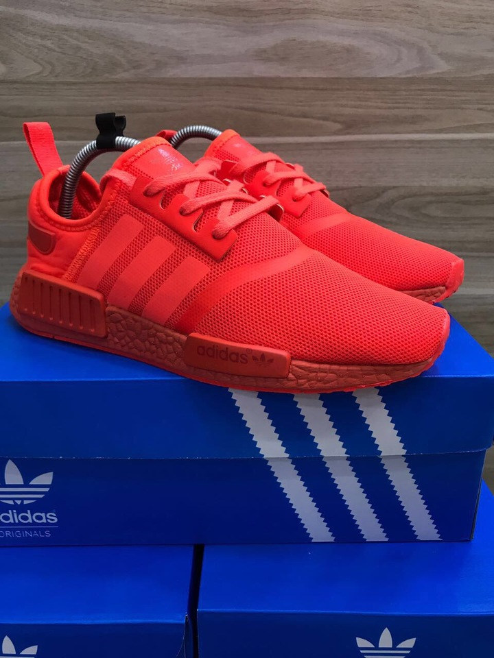 49104414fd TENIS ADIDAS NMD MASCULINO ALL RED R1 - Mozarts Fitch Outlet
