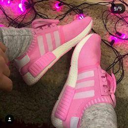 942cfb25c8 Tenis Adidas NMD Rose com Branco Feminino
