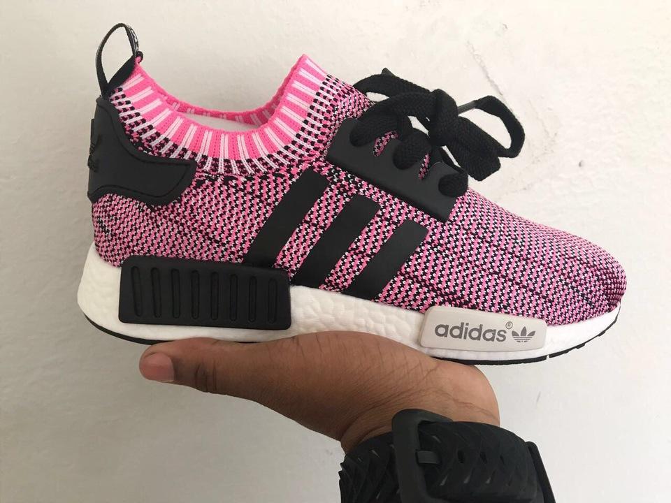 adidas camuflado preto com rosa