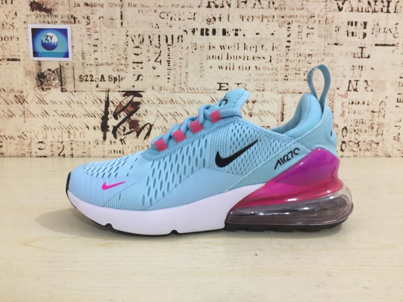 9694c712aa8 Nike Air Max 270 Azul Claro Feminino - Mozarts Fitch Outlet