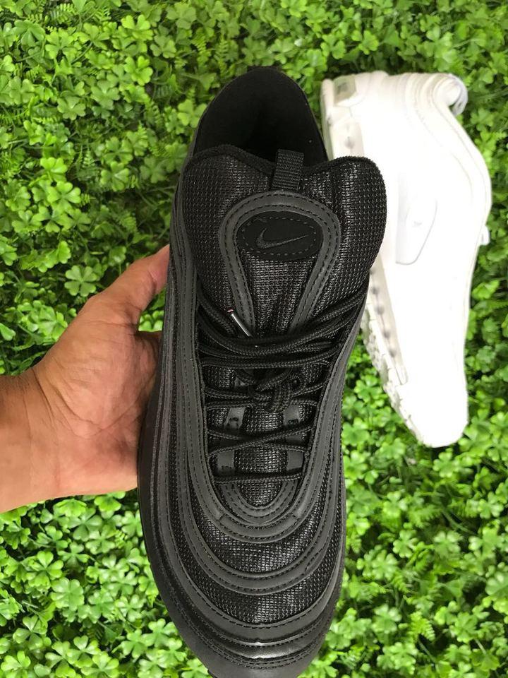 19d74587851 Nike Air Max 97 Branco e Preto - Importado Fotos Reais - Mozarts ...