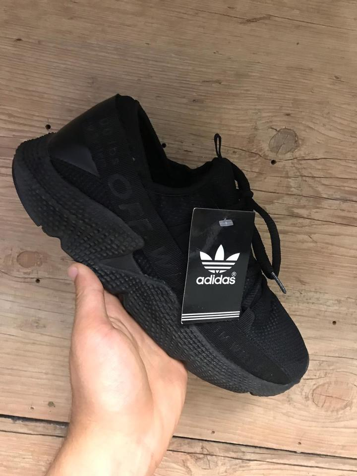 f83102762b9f Adidas Prophere Off White Todo Preto - Mozarts Fitch Outlet