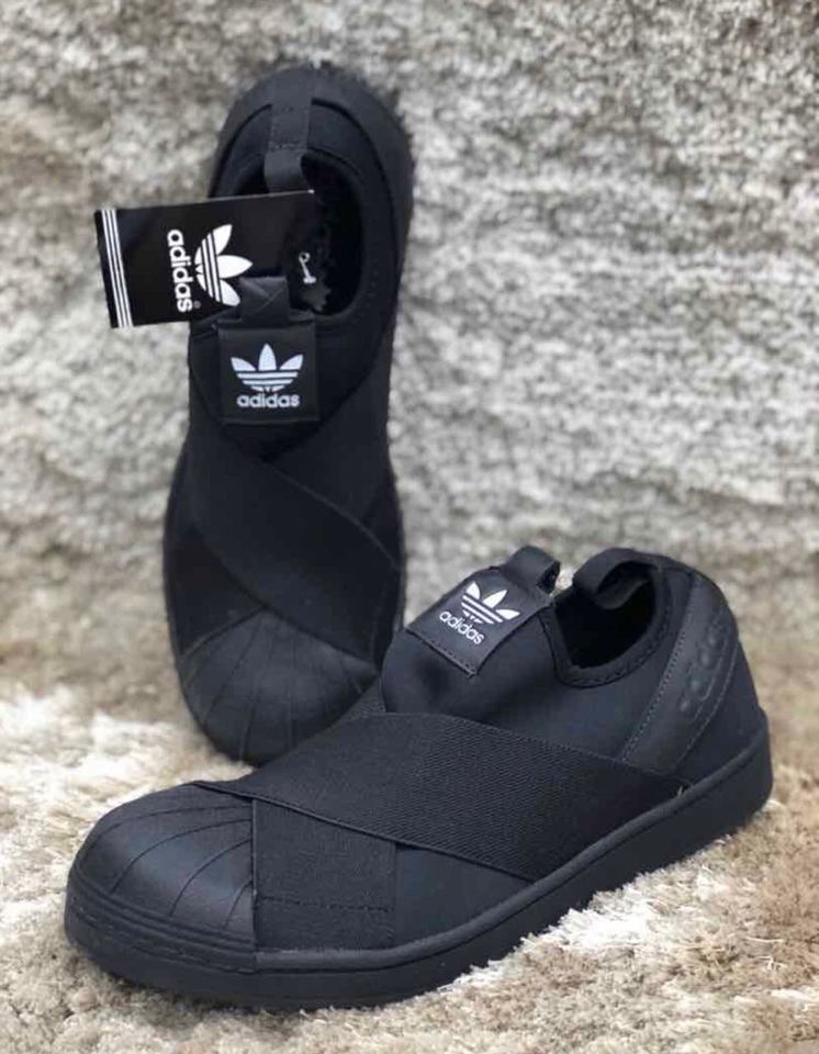 7a64f7dca89 Tenis Adidas Slip On Todo Preto - Mozarts Fitch Outlet
