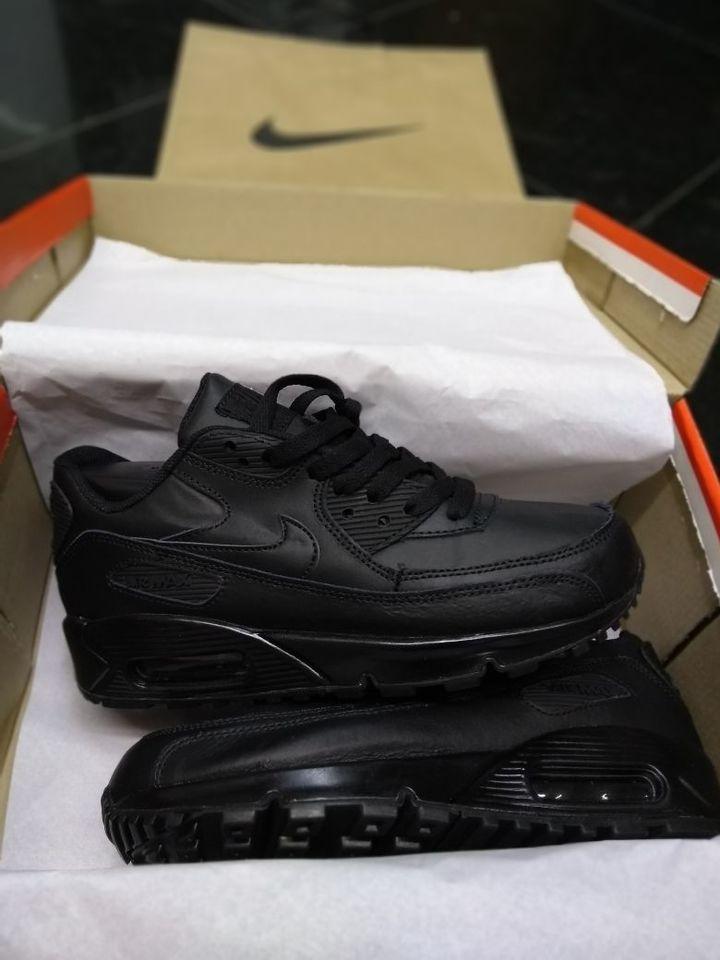 e8be105846a Tenis Nike Air Max 90 Importado Masc Fem Preto Couro - Mozarts Fitch ...