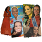Vestido Utilizado por ANGELA CATRAMBY Ao Ser Eleita SENHORITA RIO Concurso Organizado Pelo Jornal O GLOBO, Edição de 1968