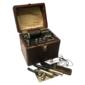 Aparelho Eletroterapêutico THE APOLLO MEDICAL APPARATUS Estados Unidos, Original do Século XIX