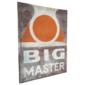 Placa Gigante BIG MASTER Original de PARQUE DE DIVERSÕES, Anos 1980