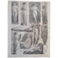 """Gravura Erótica: Prancha de Émile Bayard, Extraída dos Fascículos de """"Lé Nu Esthetique"""" Paris  Original do Início de 1900"""