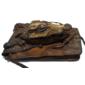 Bolsa Feita Com Pele e Cabeça Originais de CROCODILO ANÃO Da Africa Ocidental (Osteolaemus Tetraspis)