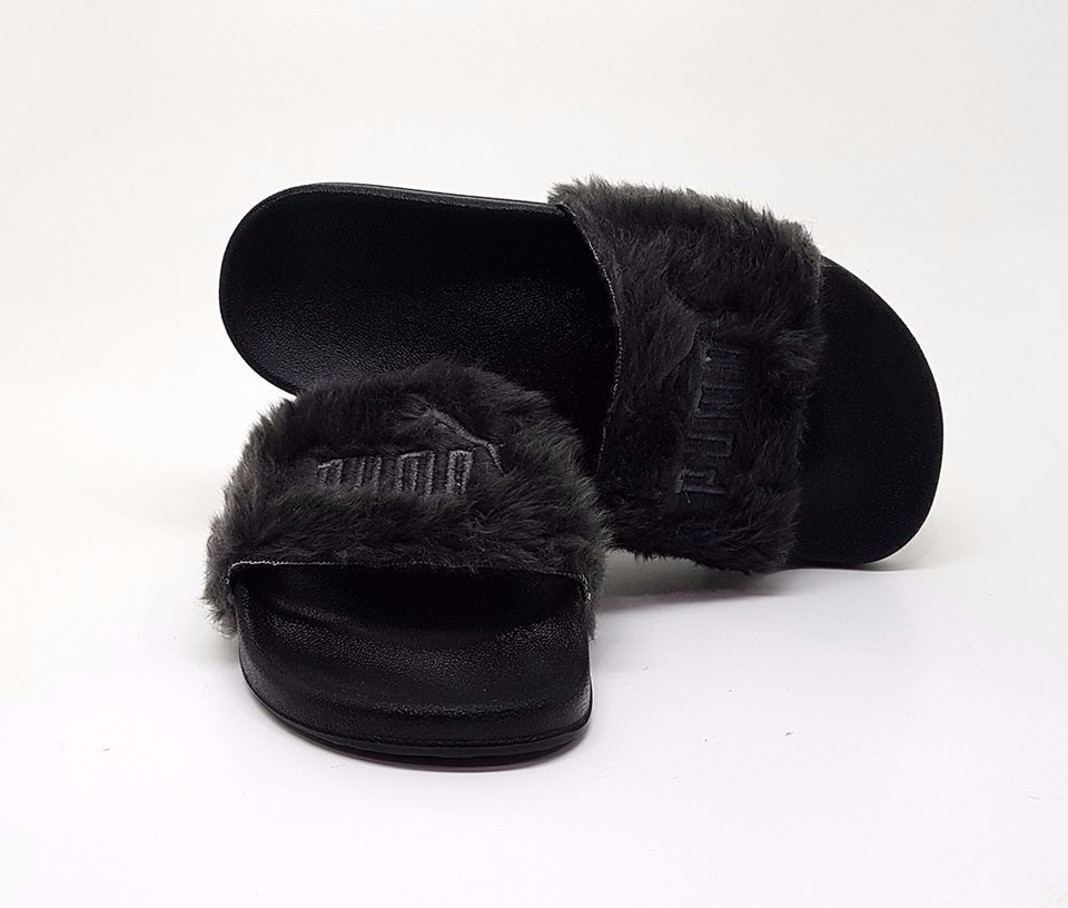 150a84f0a Chinelo Puma Fenty Fur Slide By Rihanna ...