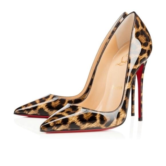 size 40 43e82 f5223 Scarpin Christian Louboutin Pigalle Leopard