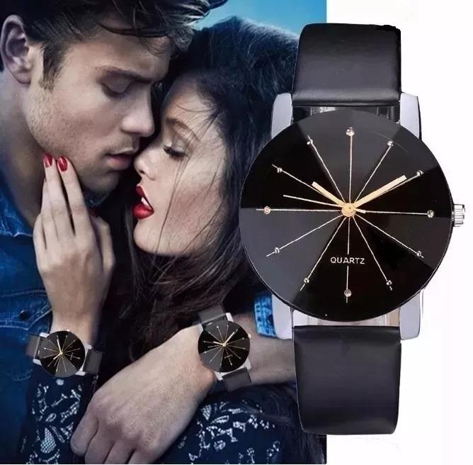 a12f1434d32 Relógio Quartz Analógico Dial Hour