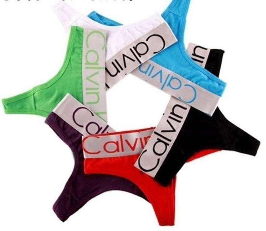 6ec3f5034 Calcinhas Avulsas Fio Dental Calvin Klein - EllaGlamour