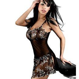 819383da3 Lingerie Baby Doll Transparente Black